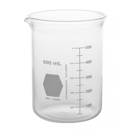 VASO X ULTRASONIDOS 600 ML.